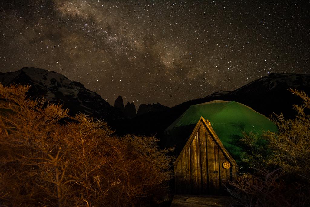 2 Milky Way above EcoCamp Patagonia
