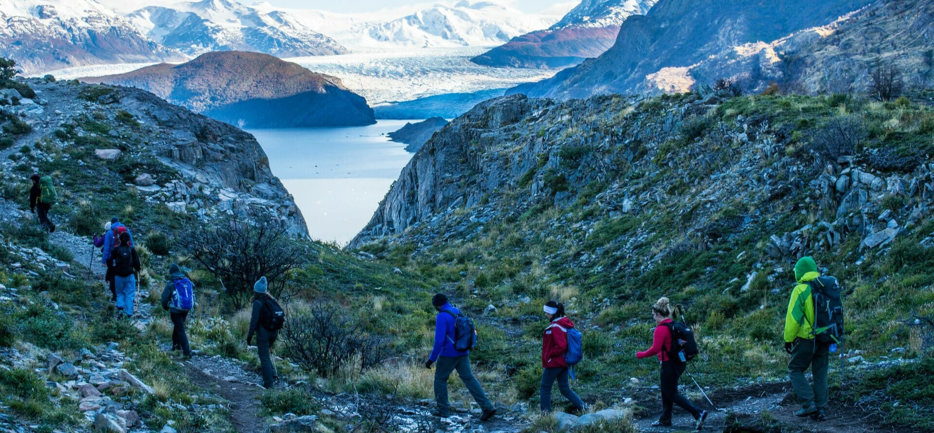 Grey Trail Torres del Paine W trek