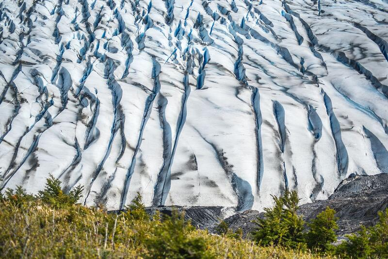 Grey Glacier on Paine Circuit