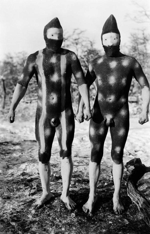 Selknam tribes of tierra del fuego