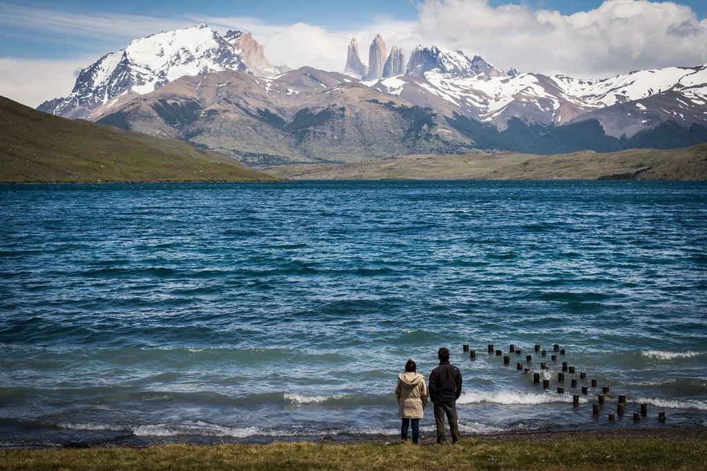 View on Laguna Azul