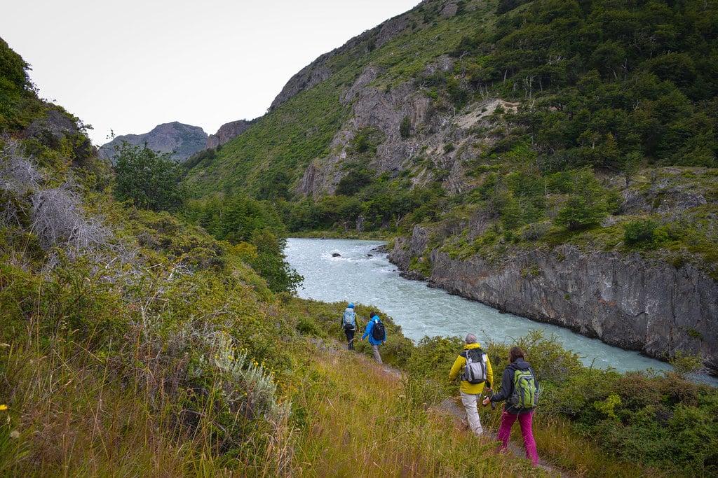 Hiking through the beautiful Pingo Valley...