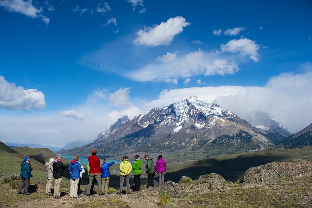 Looking at the Almirante Nieto mountain