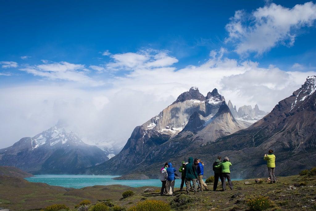 Facing Patagonian winds