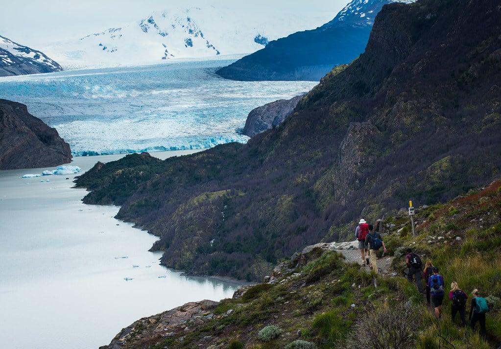 Facing Grey Glacier