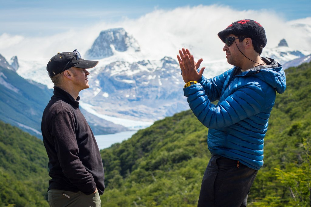 We had an unobstructed view of the Perros forest and the Dickson glacier...
