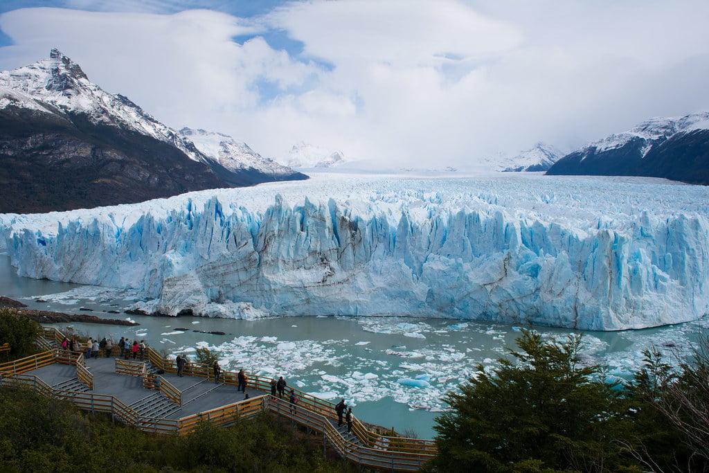 Perito Moreno pasarela