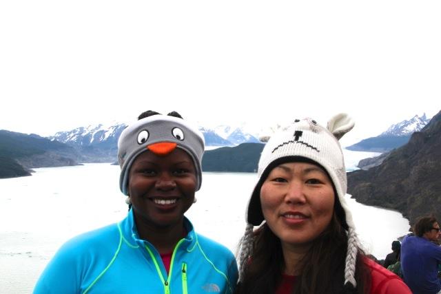 Together at Grey Glacier