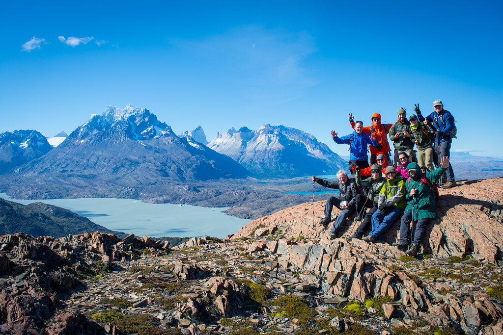 Ferrier Lookout: the perfect spot for a group picture!