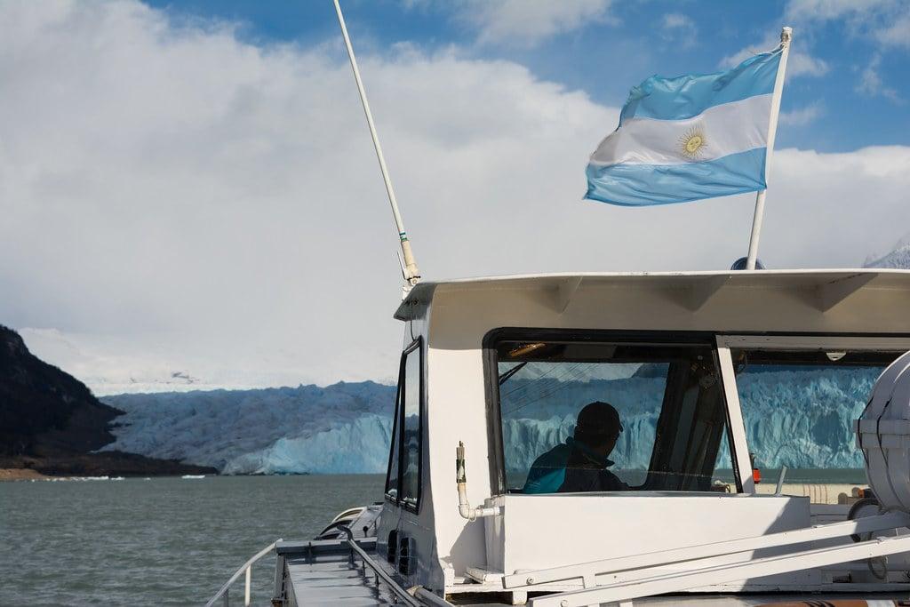 Perito Moreno boat ride