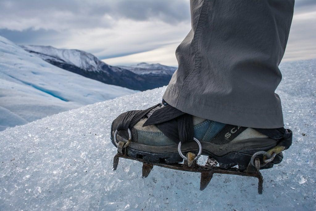 Crampons glacier