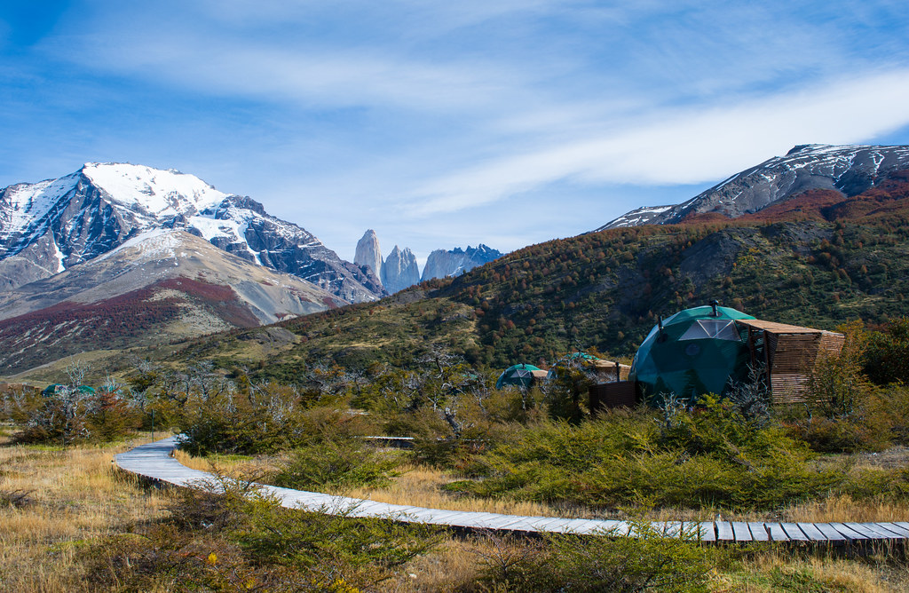 Suite domes at EcoCamp Patagonia, Torres del Paine NP