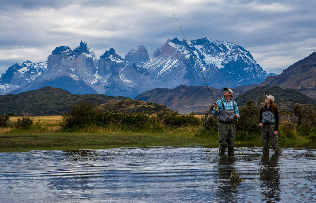 Learn to fish in Patagonia