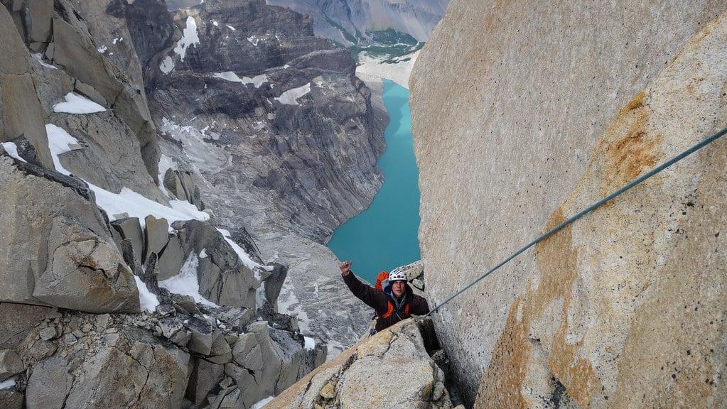 Climbing Torres del Paine