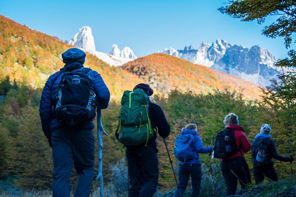 W Trek in Autumn