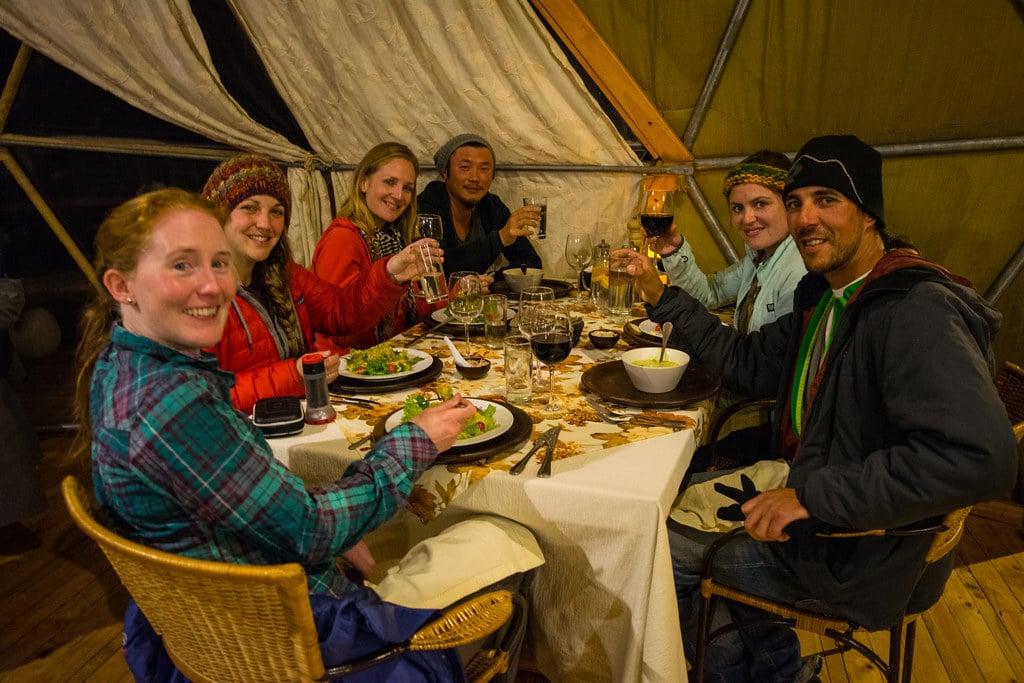 Dinner in EcoCamp