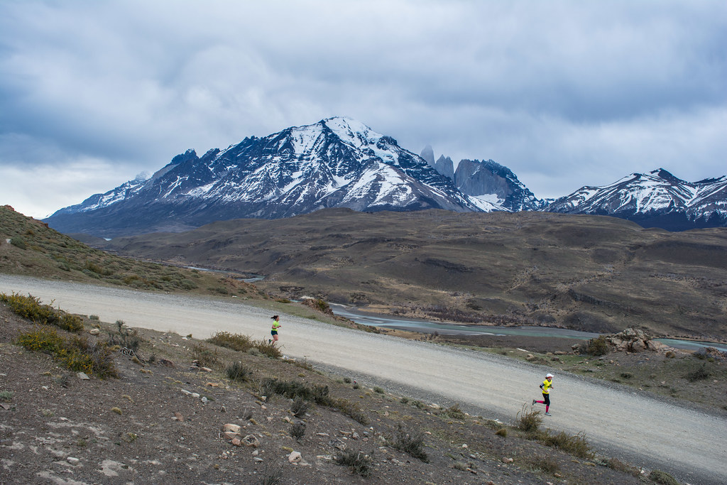 In Patagonia, a dark sky does not always mean bad weather: we did not have rain at all for the 2015 edition!