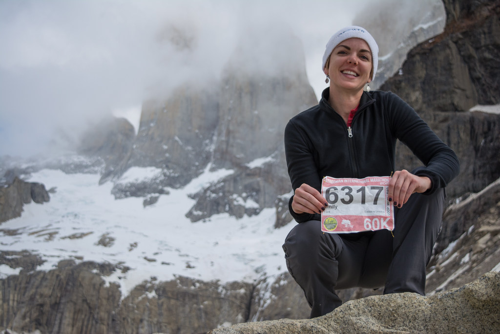 Good hiker, great runner...Emily ran the 60K and never complained!