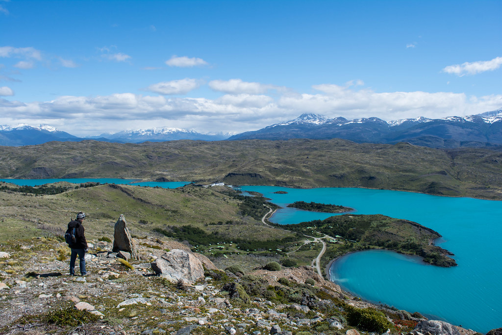 Overlooking the Paine River