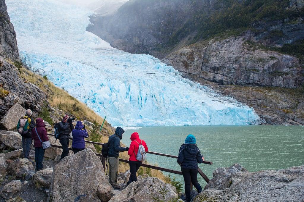 Serrano glacier lookout