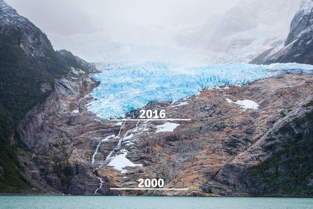 Balmaceda Glacier, 2000/now. No comments.