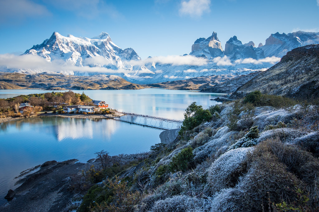 Pehoe Lake Patagonia