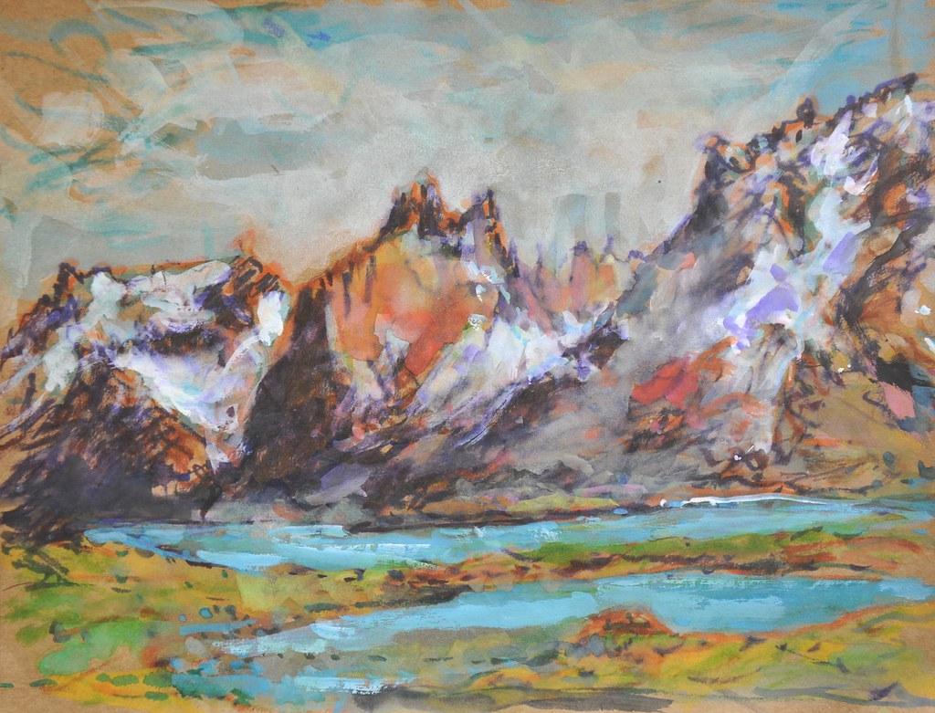 Torres de Paine Painting