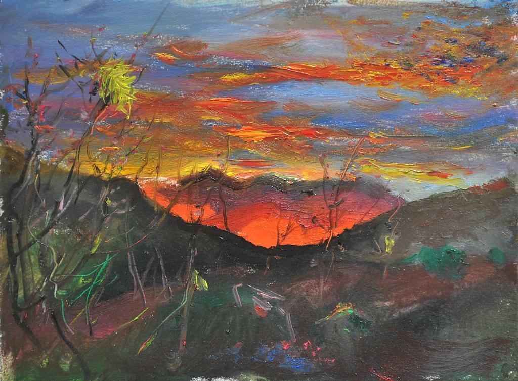 Torres del Paine Painting