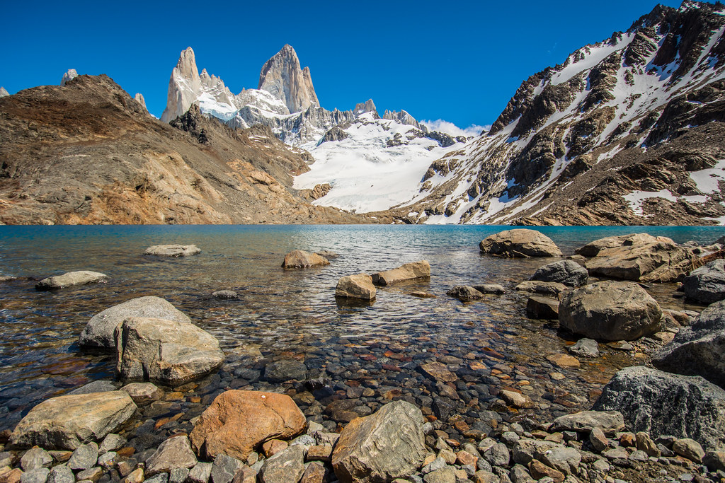 Classic View of Mt. Fitzroy