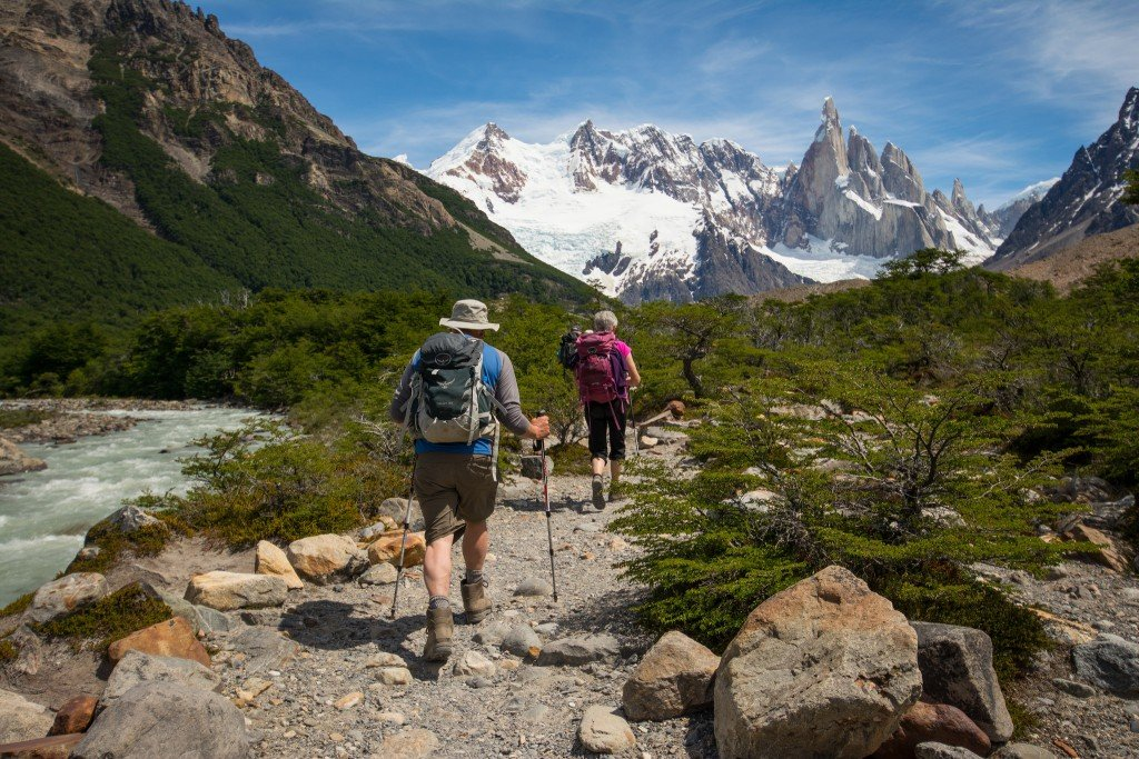 Hiking to Cerro Torres