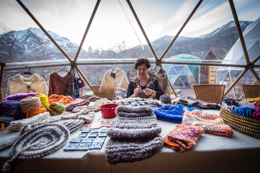Local handcrafters at EcoCamp