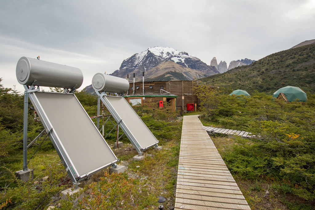 Thermosiphons at EcoCamp