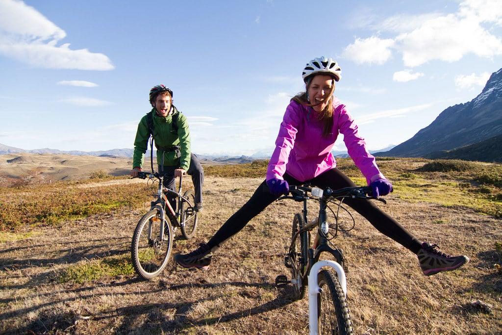 Biking in Torres del Paine National Park