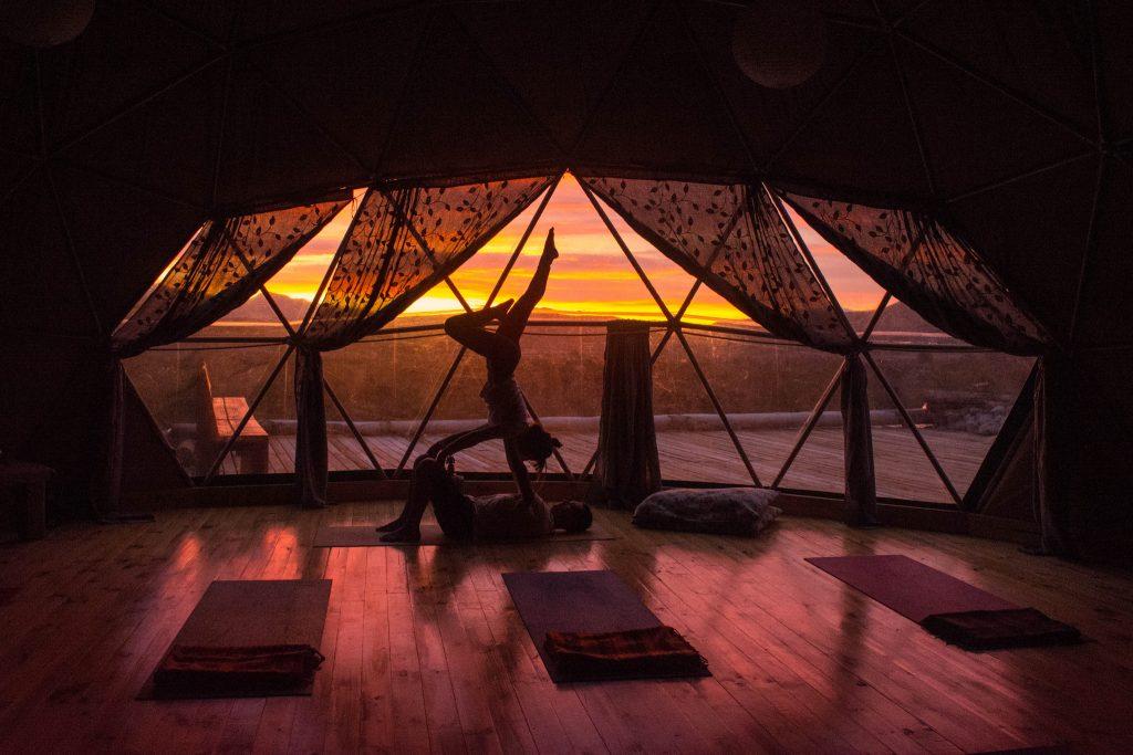 Yoga in Torres del Paine