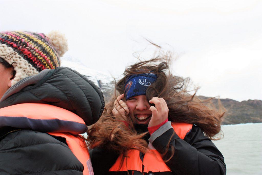 Wind in Torres del Paine