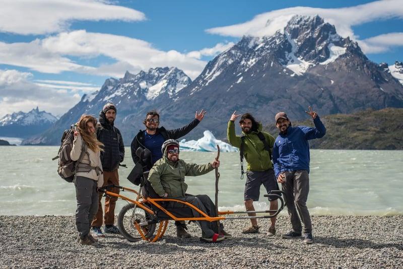 Special Trekking wheelchair