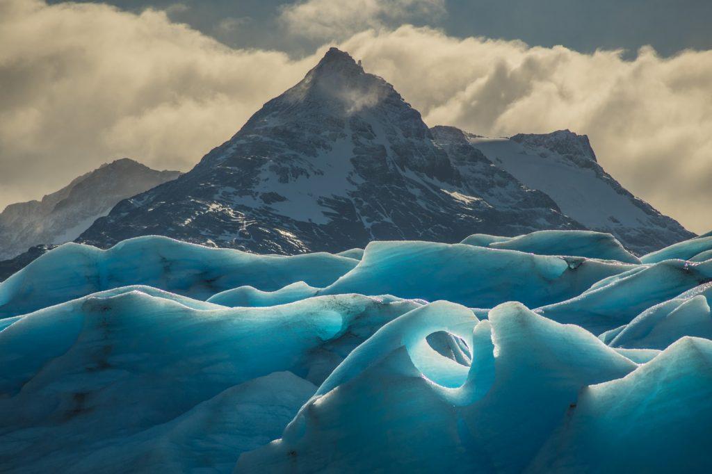 Giant Glacier Torres del Paine