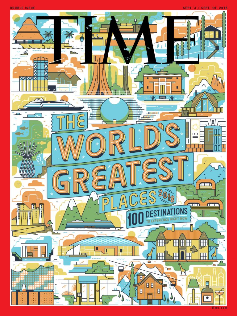 Times - The World's Greatest Places 2018