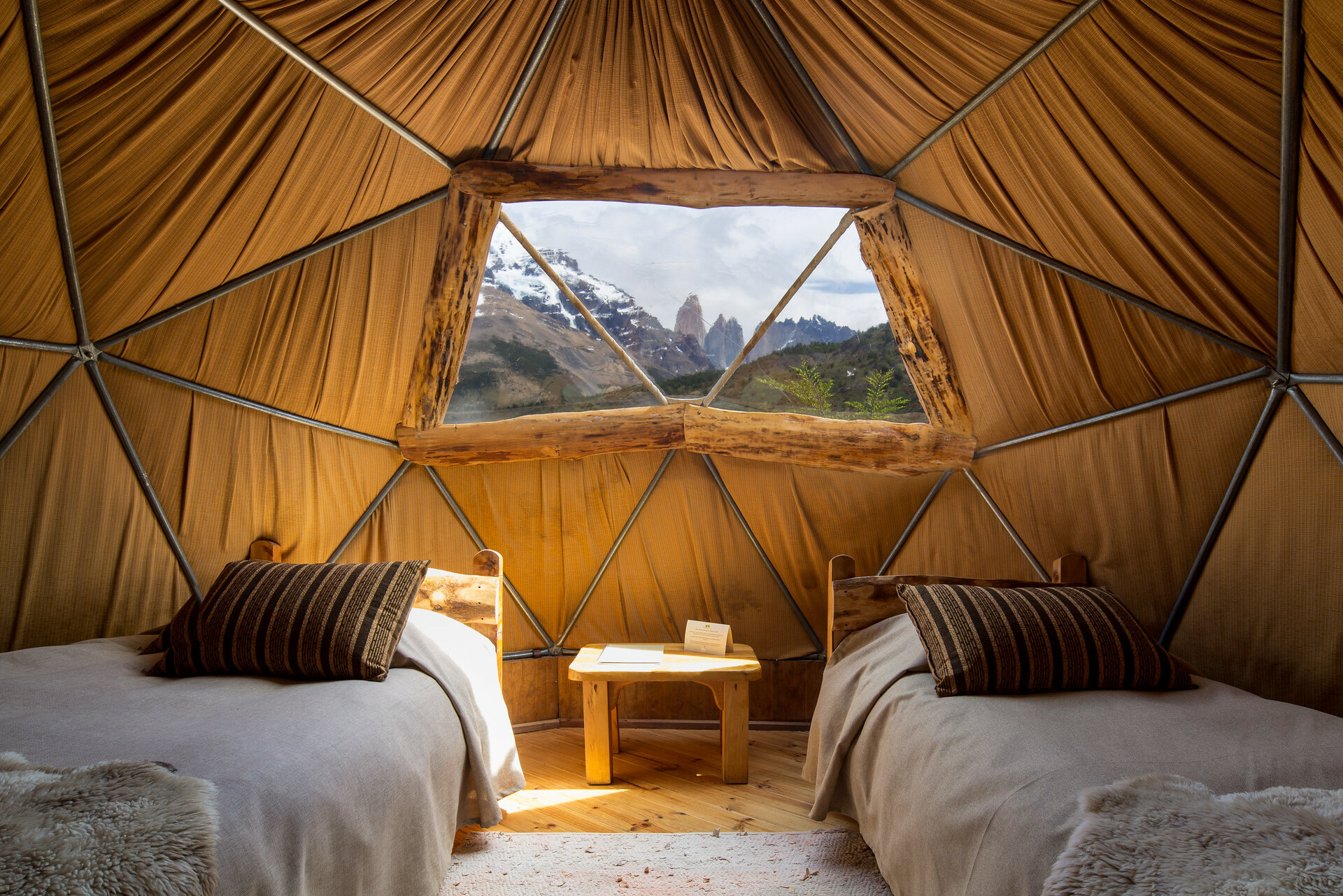 Standard Dome EcoCamp Patagonia