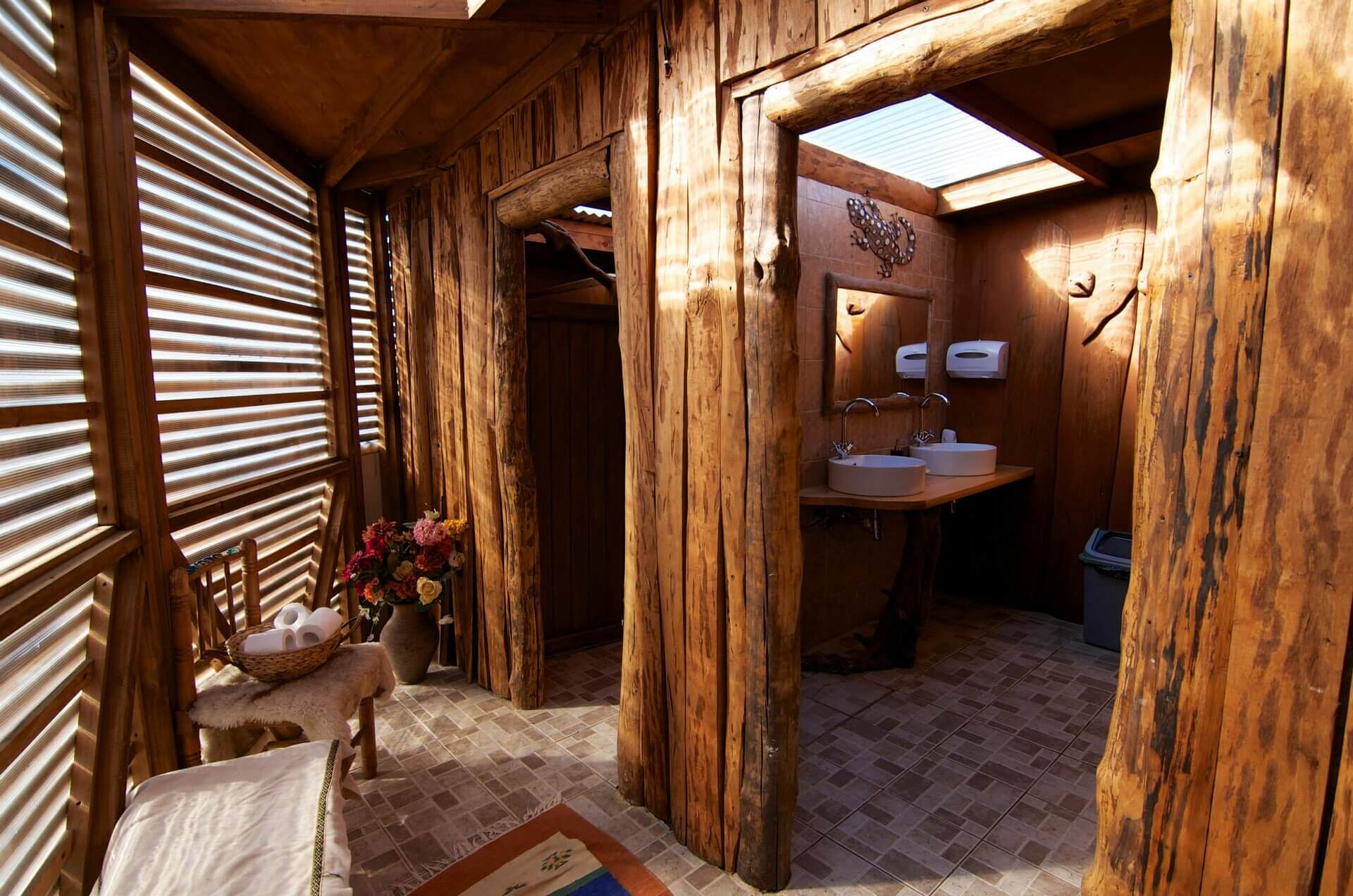 Standard Dome Shared Bathroom