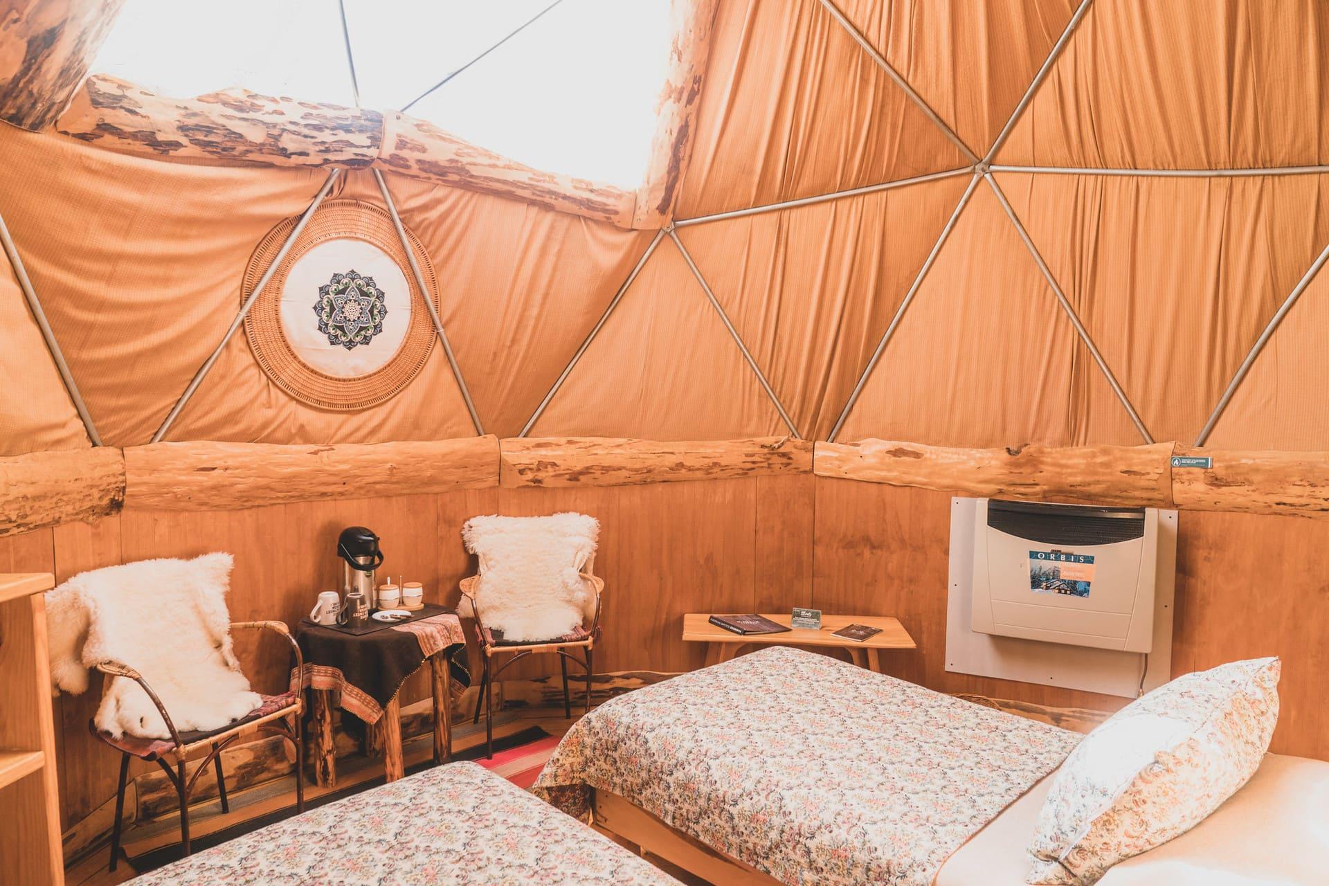 Superior Dome EcoCamp Patagonia