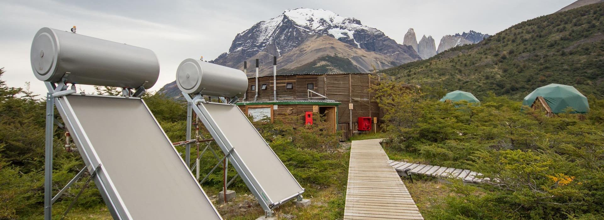 EcoCamp Solar Pannels