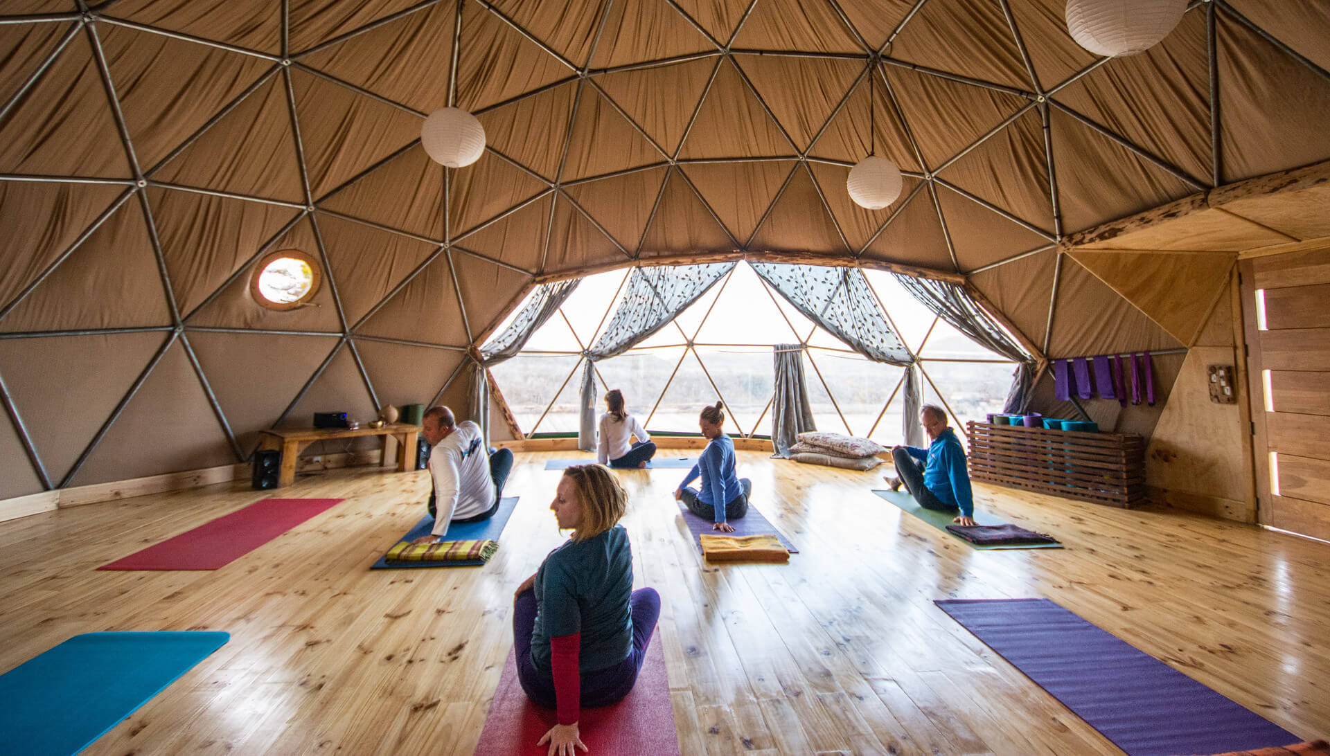 Domo de Yoga EcoCamp