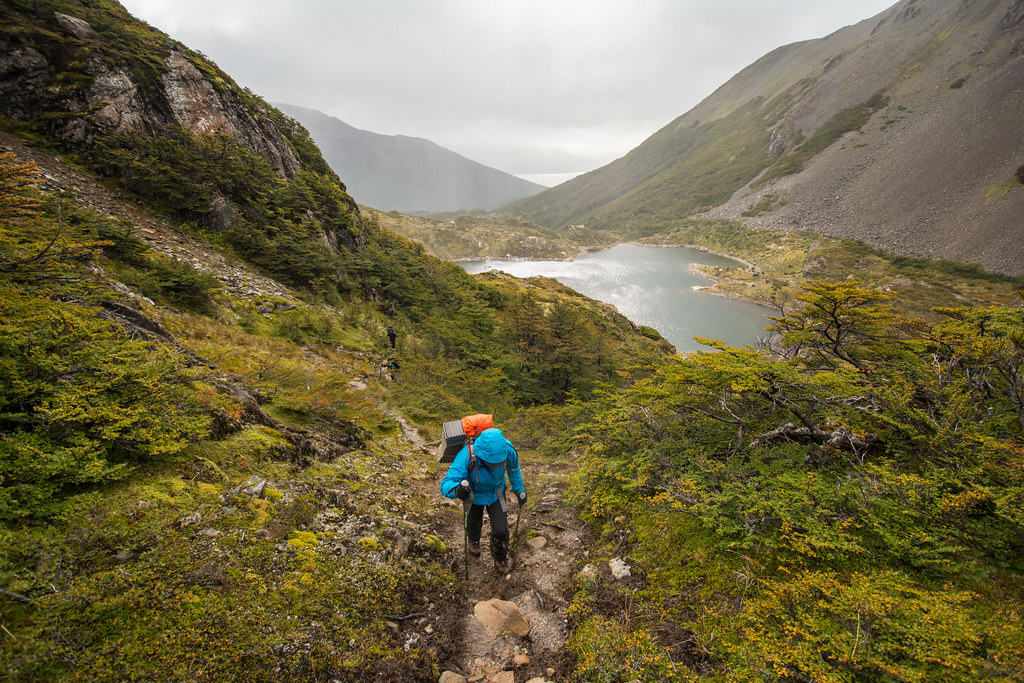 Laguna del Salto in Los Dientes Trek